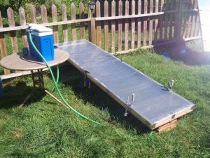 solar powered water heater